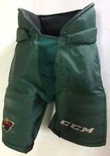 CCM HP70 Pro Stock Hockey Pants Large L Green Minnesota Wild 10270