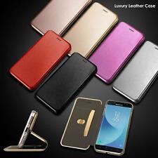 LUSSO Flip in Pelle Portafoglio Stand Case Cover per Samsung Galaxy S10 S9 S8 9 Note