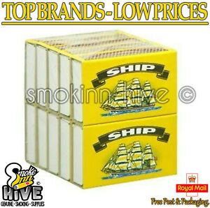 10 x BOXES OF SHIP SAFETY MATCHES BBQ CANDLES CAMPING COOKING UK