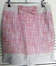 Alannah Hill, 10, pink/grey, tweed style skirt