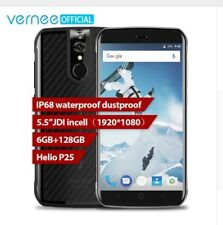 Vernee Active Mobile Phone Waterproof Android 7.0 6GB+128G Helio P25 Octa Core