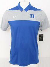 NEW Duke Blue Devils Basketball Nike Dri-Fit Athletic Polo Shirt Men's M