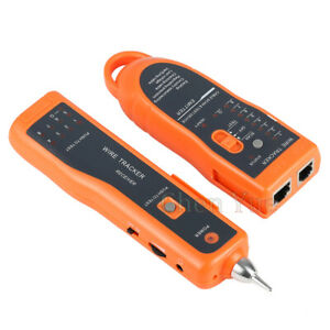 LAN Network Wire Tracke Cat5 Cat6 RJ45 RJ11 Detector Line Finder Telephone Teste