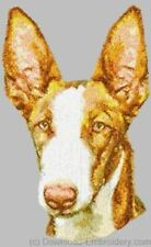 New ListingEmbroidered Short-Sleeved T-Shirt - Ibizan Hound Dle1554 Sizes S - Xxl