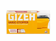 Gizeh Stopfmaschine Zigarettenstopfer Tabak Stopfer Stopfgerät -  Vario Stopfer