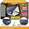 4*100 LED Solar Power PIR Motion Sensor Wall Lights Outdoor Garden Security Lamp