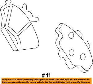 FORD OEM Brake-Front Pads 8L1Z2V001A