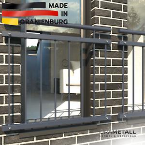 """Französischer Balkon Fenstergitter """"ANKER"""" von ORAMETALL Höhe 90 cm nach Maß"""