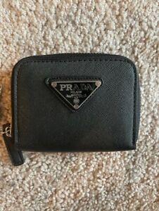 Brand new PRADA small card holder wallet in black
