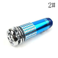 Car Air Purifier Freshner Ionizer Oxygen Bar Auto Fresh Energizer Lighter Blue