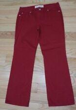 Ann Taylor LOFT Original Boot cut Red denim jeans size 10P