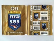 POCHETTE PANINI FIFA 365 2019 PACKET TUTEN BUSTINA FRENCH VERSION PRICE BACK