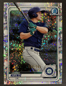 2020 Bowman Chrome Jarred Kelenic 046/299 Speckle Refractor Mariners Non Auto