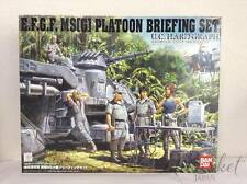 BANDAI UCHG Gundam 08th MS Team 1/35 E.F.G.F. MS(G) Platoon Briefing Set NEW