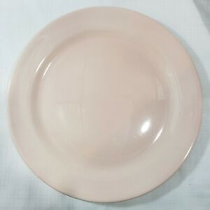 """14"""" TAYLOR SMITH &T TS&T LuRay Pastels Pink Chop Plate Round Platter"""