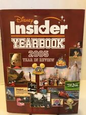 Disney Insider 2005 Yearbook Dvd Included - Hardcover W/ Dust Jacket 1st Edition