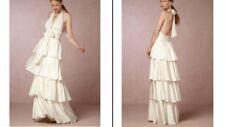 BHLDN Bille Maxi Dress Ivory Size 12 by Jill Stuart $420