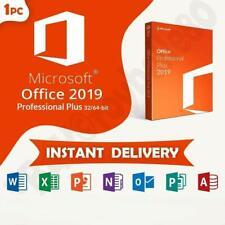 Microsoft Office 2019 Professional plus 32/64 bits license key Original