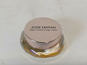 Josie Maran Argan Crystal Energy Cream Pure Argan Pure Tangerine 0.28 oz No Box