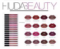 Neuf Huda Beauty Liquide Lèvre Rouge à Lèvres Mat en Boîte Vendeur Royaume-Uni -