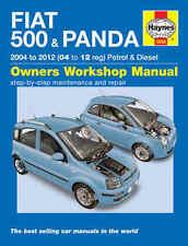H5558 Fiat 500 & Panda (2004 to 2012) Haynes Repair Manual