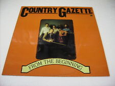 COUNTRY GAZETTE - FROM THE BEGINNING - LP VINYL 1979