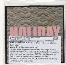 (DK255) Micachu & The Shapes, Holiday - 2012 DJ CD