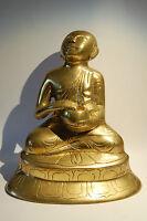 *** Schöner MÖNCH  aus Messing, Burma ***