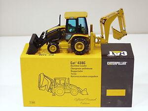 "Caterpillar 438C Backhoe - ""LAUNCH EDITION"" - 1/50 - NZG #430 - MIB"