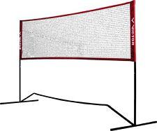 Victor Premium Mini Badminton Netz Federball  Volleyballnetz Tennisnetz Fußballt