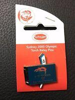 Sydney 2000 Olympics 100 Days 1 Celebration Torch Relay Pin Badge (3233115C7)