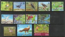 Solomon Islands 2001 Birds set of 12.MNH.Very Fine.
