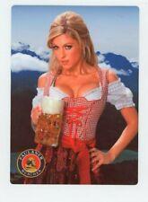 Paulaner METAL Bier Sign - Sexy German Beer Girl - Oktoberfest Munchen