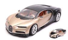 Welly We24077g Bugatti Chiron Gold Black 1 24-27 Modellino Die cast Model