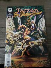 Tarzan: The Savage Heart #2 in Near Mint condition. Dark Horse comics