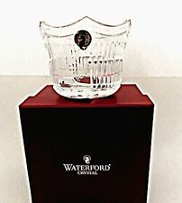 Waterford Crystal Christmas St Nicholas Votive Candle Holder Germany No Candle