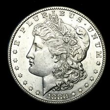 1880 S ~**CHOICE AU**~ Silver Morgan Dollar Rare US Old Antique Coin! #773