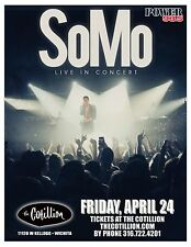 "SOMO ""LIVE IN CONCERT"" 2015 WICHITA TOUR POSTER - R&B, Pop Music"