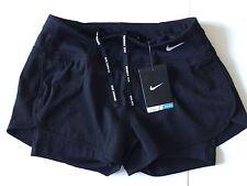 NIKE RUNNING FLEX 2 in 1 Ladies  Shorts Dri Fit Size XS