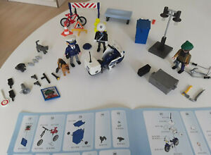 4157 Playmobil - Adventskalender Polizei auf Verbrecherjagd top viele Teile