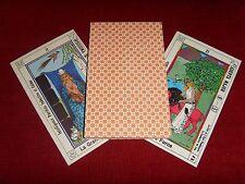 Ancien Tarot ésotérique astrologique 22 cartes cabale kabbale astrologie VINTAGE