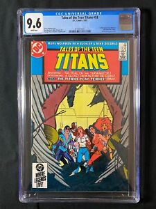 Tales of the Teen Titans #53 CGC 9.6 (1985) - 1st full appearance of Azrael