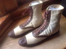 Keds Hightop Sneakers Basketball Shoes 1916 Old Basketball Antique Naugatuck CT