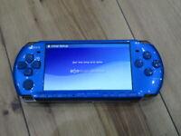 Sony PSP 3000 console Vibrant Blue Japan B620