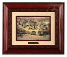 Thomas Kinkade St Nicholas Circle - Brushwork (Brandy Frame)