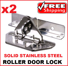 2 X ABUS Roller Door Lock Anchor Solid Stainless Steel Gatesec AB138