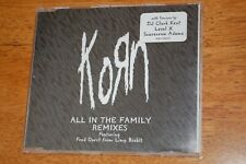 Korn - All In The Family (promo CD single) Remixes feat' Fred Durst (Limp Bizkit