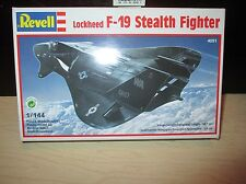 Lockheed F-19 Stealth Fighter 1:144 Scale Revell Model Kit 4051