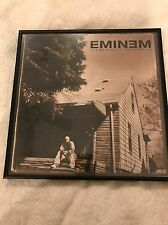 Music Memorabilia Eminem Marshall Mathews Lp (2000) Cover Promo Art Framed