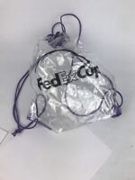 Bag BackpackClear Event Cinch Drawstring Bag Fedex Cup Stadium Compliant Travel